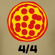 Design ~ 4/4 Rebanadas de Pizza