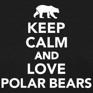 Keep calm love Polar Bears Women's T-Shirts - Women's T-Shirt