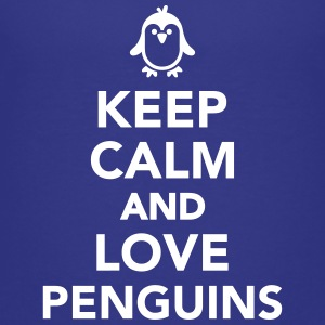 Keep calm and love Penguin Kids' Shirts - Kids' Premium T-Shirt