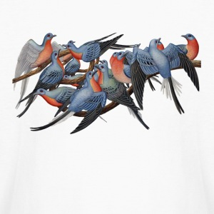 Passenger Pigeons Kids' Shirts - Kids' Long Sleeve T-Shirt
