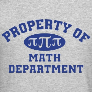 Property Of Math Department - Crewneck Sweatshirt