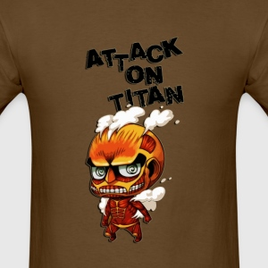 attack on titan cute - Men's T-Shirt