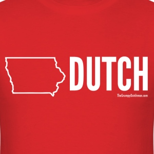 Iowa Dutch (white) - Men's T-Shirt