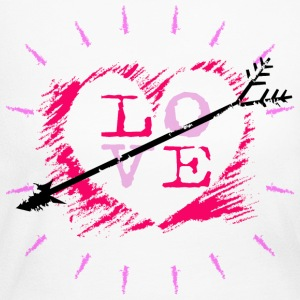 Valentine Love Long Sleeve Shirts - Women's Long Sleeve Jersey T-Shirt