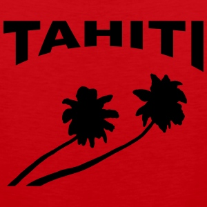Tahiti - palm trees Men - Men's Premium Tank