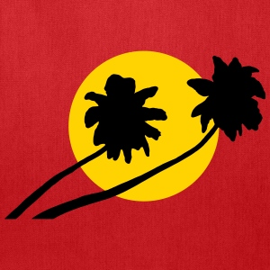 Palm trees in sunset - V2 Bags & backpacks - Tote Bag