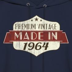 Vintage 1964 50th Birthday Hoodies