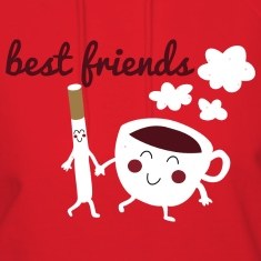 Best Friends Til The Very End Clothing Apparel Hoodies