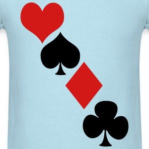 Deck of cards T-Shirts - Men's T-Shirt