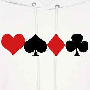 Deck of cards Hoodies - Men's Hoodie
