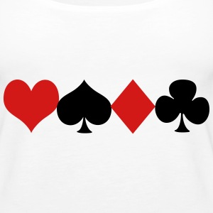 Deck of cards Tanks - Women's Premium Tank Top