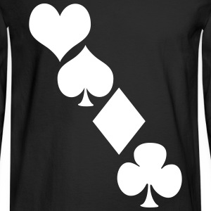 Deck of cards Long Sleeve Shirts - Men's Long Sleeve T-Shirt