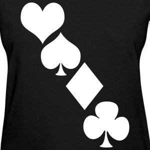 Deck of cards Women's T-Shirts - Women's T-Shirt