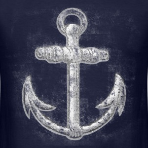Vintage Nautical Anchor T-Shirts - Men's T-Shirt