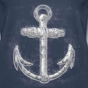 Vintage Nautical Anchor Tanks - Women's Premium Tank Top