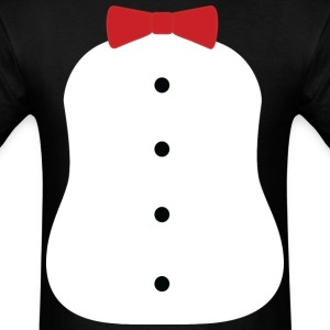 Penguin Tuxedo Costume T-Shirts - Men's T-Shirt