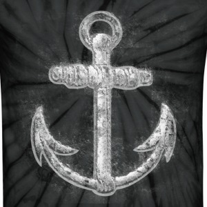 Vintage Nautical Anchor T-Shirts - Unisex Tie Dye T-Shirt