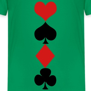 Deck of cards Kids' Shirts - Kids' Premium T-Shirt