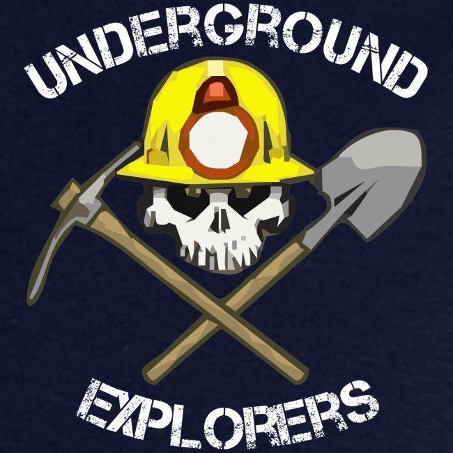 Underground Explorers Navy Blue Logo Tee