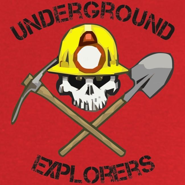 Underground Explorers Red Logo Tee