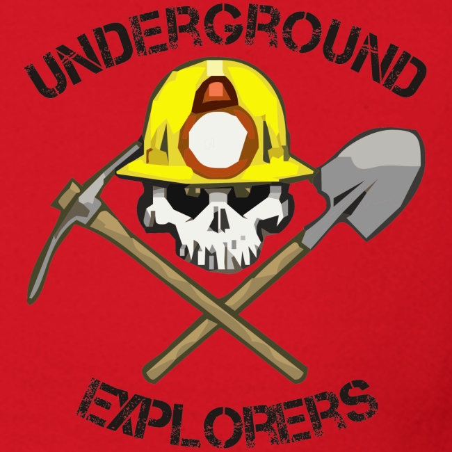Underground Explorers Red Sweatshirt