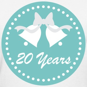 20th Wedding Anniversary Women's T-Shirts - Women's T-Shirt