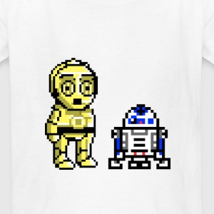 R2 and c3p0 - Kids' T-Shirt