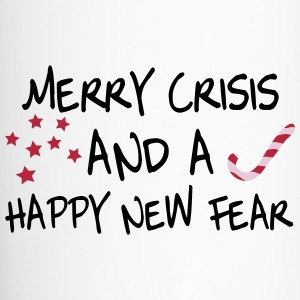 Merry crisis and a happy new fear Bottles & Mugs - Travel Mug