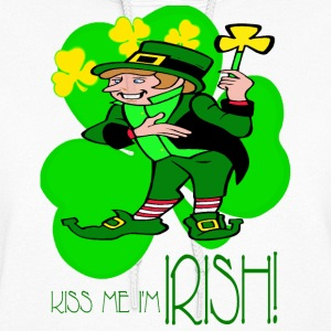 Kiss Me I'm Irish Hoodies - Women's Hoodie