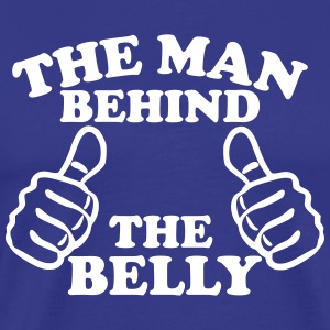 The Man Behind The Belly T-Shirts - Men's Premium T-Shirt