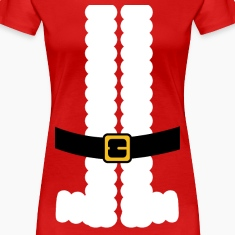 Santa Claus Suit Shirt Women's T-Shirts