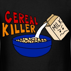 Cereal Killer Parody, Cute funny Food T-Shirts - Men's T-Shirt