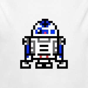 R2d2 - Long Sleeve Baby Bodysuit
