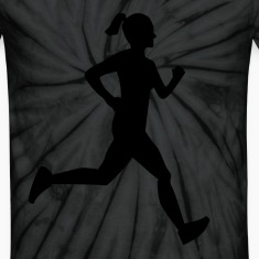 Girl Runner T-Shirts