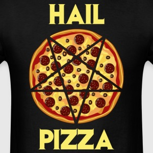 Hail Pepperoni Pizza T-Shirts - Men's T-Shirt