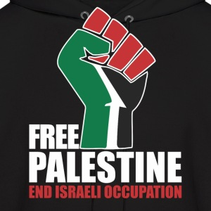 Free Palestine End Israeli Occupation Hoodies - Men's Hoodie
