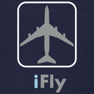 iFly_vec_3 us T-Shirts - Men's T-Shirt