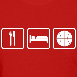 Eat Sleep Basketball Women's T-Shirts - Women's T-Shirt