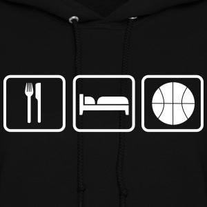 Eat Sleep Basketball Hoodies - Women's Hoodie
