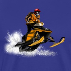 snowmobile racing T-Shirts