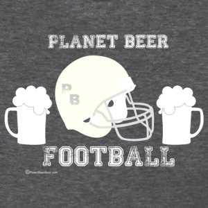 Planet Beer Football Women's T-Shirt - Women's T-Shirt