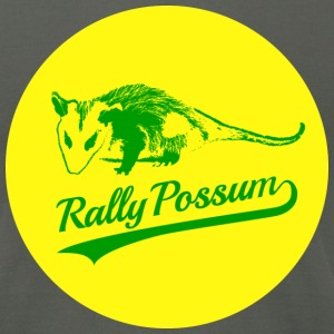 Rally Possum Men's T-Shirt - Men's T-Shirt by American Apparel