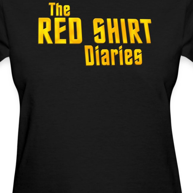 The Red Shirt Diaries Official T-Shirt (Women)