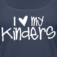 Design ~ Love My Kinders | Chalk | Teacher Shirts
