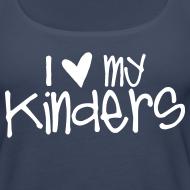 Design ~ Love My Kinders | Chalk | Teacher Shirts