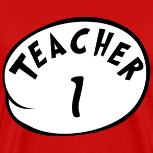 Teacher 1 T-Shirts - Men's Premium T-Shirt