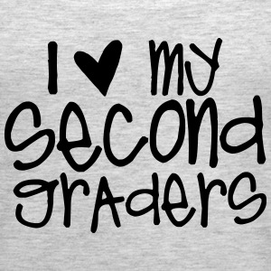 I Love My Second Graders Tanks - Women's Premium Tank Top