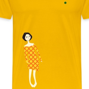 Stylish Girl - Men's Premium T-Shirt