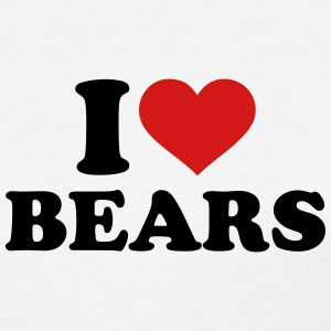 I love Bears Women's T-Shirts - Women's T-Shirt