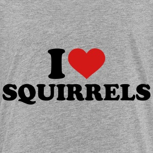 I love Squirrels Kids' Shirts - Kids' Premium T-Shirt